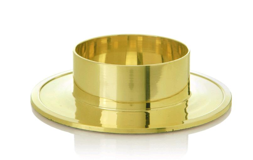 kerzenhalter gold d 6 cm kopschitz kerzen im kerzen store online shop grossartige kerzen in. Black Bedroom Furniture Sets. Home Design Ideas
