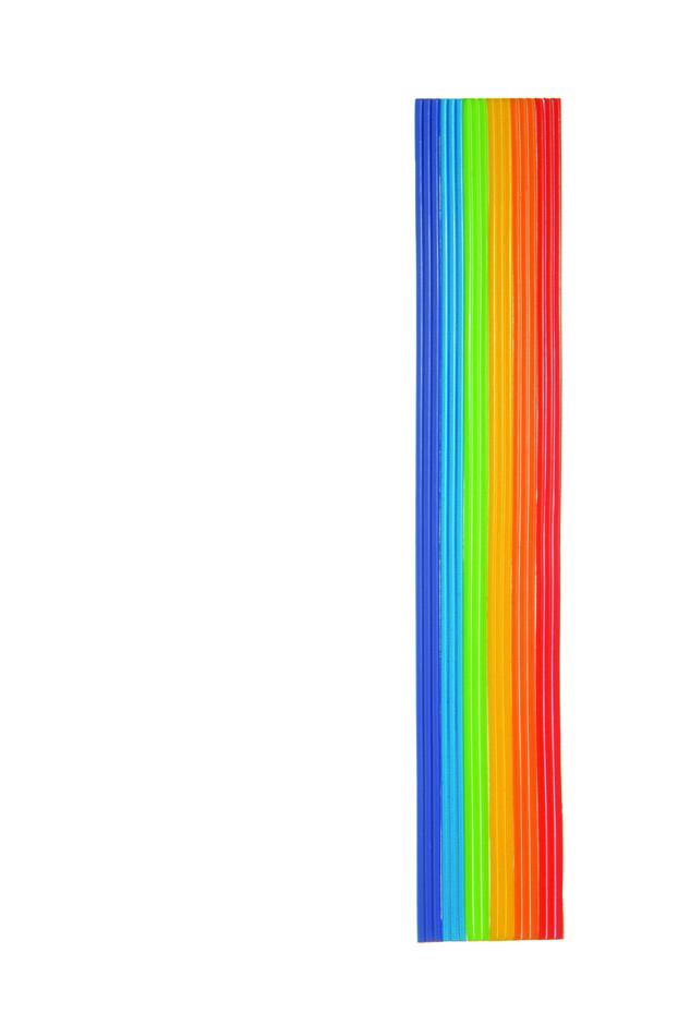 verzierwachsstreifen regenbogen kopschitz kerzen im kerzen store online shop grossartige. Black Bedroom Furniture Sets. Home Design Ideas